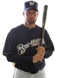 Milwaukee Brewers Photo Day  MARYVALE  AZ - FEBRUARY 24: Mark Kotsay