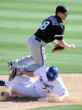 Chicago White Sox v Los Angeles Dodgers  PHOENIX  AZ - FEBRUARY 28: Brent Lillibridge