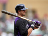 Colorado Rockies v Arizona Diamondbacks  SCOTTSDALE  AZ - FEBRUARY 26: Troy Tulowitzki