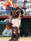 Chicago Cubs v San Francisco Giants  SCOTTSDALE  AZ - MARCH 01: Buster Posey