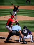 Cincinnati Reds v Colorado Rockies  SCOTTSDALE  AZ - MARCH 14: Jhoulys Chacin