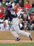 Colorado Rockies v Arizona Diamondbacks  SCOTTSDALE  AZ - FEBRUARY 26: Dexter Fowler