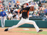 Chicago Cubs v San Francisco Giants  SCOTTSDALE  AZ - MARCH 01: Tim Lincecum
