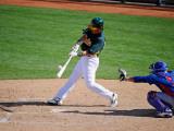 Oakland Athletics v Chicago Cubs  PHOENIX  AZ - MARCH 15: Hideki Matsui