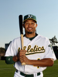 Oakland Athletics Photo Day  PHOENIX  AZ - FEBRUARY 24: Coco Crisp