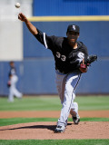Chicago White Sox v Milwaukee Brewers  PHOENIX  AZ - MARCH 17: Edwin Jackson