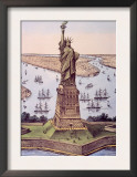 The Statue of Liberty  1885