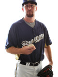 Milwaukee Brewers Photo Day  MARYVALE  AZ - FEBRUARY 24: Mike McClendon