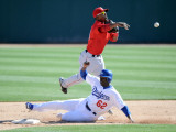 Los Angeles Angels of Anaheim v Los Angeles Dodgers  PHOENIX  AZ