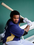 Milwaukee Brewers v San Francisco Giants  SCOTTSDALE  AZ - MARCH 14: Prince Fielder