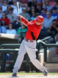 Cincinnati Reds v Texas Rangers  SURPRISE  AZ - MARCH 11: Joey Votto