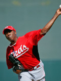 Cincinnati Reds v Colorado Rockies  SCOTTSDALE  AZ - MARCH 14: Aroldis Chapman