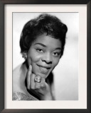 American Blues  Jazz  and R&amp;B Singer Dinah Washington  1963