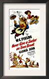 Never Give a Sucker an Even Break  Top Center: WC Fields  1941