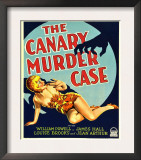 The Canary Murder Case  Louise Brooks on Window Card  1929