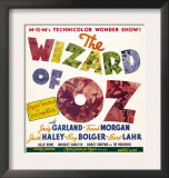 The Wizard of Oz  Jumbo Window Card  1939