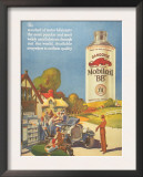 Mobiloil Gas Stations Day Trips  USA  1920