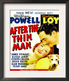 After the Thin Man  Myrna Loy  William Powell  Asta (Lower Right) on Window Card  1936