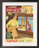 John Bull  Holiday Travel Agents Magazine  UK  1956