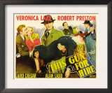 This Gun for Hire  Robert Preston  Veronica Lake  Alan Ladd  Laird Cregar  1942