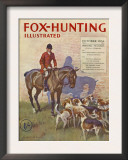 Fox-Hunting Illustrated  Fox Hunting Cruel Sports Magazine  UK  1934