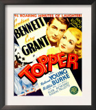 Topper  Cary Grant  Constance Bennett on Window Card  1937