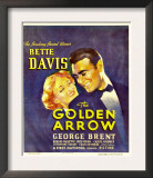 The Golden Arrow  Bette Davis  George Brent on Window Card  1936