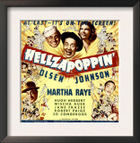Hellzapoppin'  Ole Olsen  Chic Johnson  Martha Raye  Hugh Herbert  Mischa Auer on Window Card  1941
