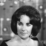 Actress Elizabeth Taylor Seen Here During a Press Conference at London Airport  May 1959