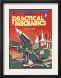 Practical Mechanics  Microscopes  Chemistry Sets Magazine  UK  1953