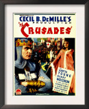 The Crusades  Henry Wilcoxon  Loretta Young on Midget Window Card  1935