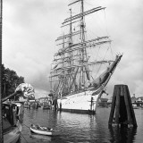 Tall Ship in Harbor
