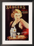 Seagers  Glamour Gin Cocktails  UK  1930