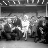 Elizabeth Taylor and Richard Burton: Henry Cooper and Casius Clay at Wembley  1963