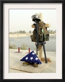 Fallen Soldier&#39;s Gear  Camp Baharia  Iraq  June 12  2007