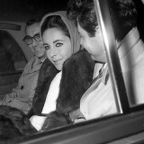 Elizabeth Taylor with Husband Eddie Fisher  November 1960