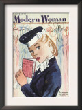 Modern Woman  Womens Ration Book Rationing Portraits Magazine  UK  1944