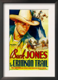 The Crimson Trail  Buck Jones  1935