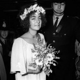 Elizabeth Taylor and Richard Burton Attend Liz's Son Michael Wilding Jnr's Wedding  October 1970