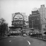 American City With Commercial Billboards