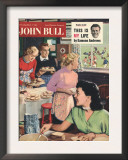 John Bull  Cooking Rugby Tea Girlfriends Baking Magazine  UK  1956