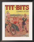 Tit-bits  Boy Scouts Holiday Beaches Magazine  UK  1930