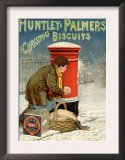 Huntley and Palmers  Biscuits Post Boxes  Snowballs  UK  1890