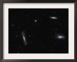 Small Group of Galaxies known as the Leo Triplet
