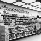 Interior of Drug Store