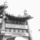 Temple Pagoda  Low Angle View