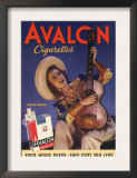 Avalon  Cigarettes Smoking  Guitars Instruments  USA  1940