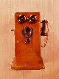 Old Fashioned Double Bell  Crank Style Telephone