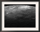 Large Craters on the Planet Mercury