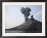 Krakatau Eruption  Sunda Strait  Indonesia